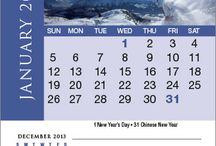 Magnet Calendars  / It's known that people visit their fridge a lot during the day. Have your marketing message be seen over and over again with Magnet Calendars.