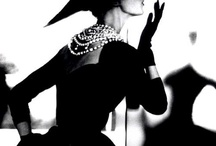 Barones Lovey De Luxe   / Retro- Glam fashion, blk & white images