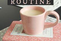 Habits || Routines