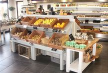Stagecraft's farm shop and deli displays / This board is a reflection of the work we've done to transform farm shops and deli's across the UK. We specialise in the design, manufacture and installation of bespoke retail systems. Our clients are heavily involved throughout the design process so that we can create their perfect retail displays.