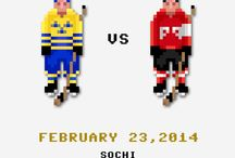 16 Bit Superstars (Pixel Art) / Sports in Pixel Glory! / by S. Preston