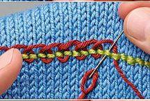 ricamo su maglia