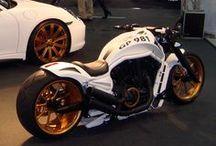 cool bikes & cars