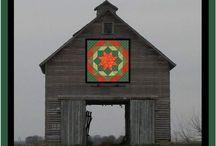 Quilt Block Barns / Just amazing!!!