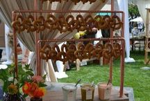 Octoberfest / Can't make it to a festival? Create one at home with fun food, drink and decor
