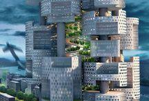 Arhitectură futuristă