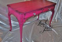 Fuchsia Ideas for Painted Furniture