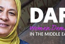 Daring: Women Demanding Progress in the Middle East / •	We are at a tipping point for women's rights in the Middle East and daring women are leading the charge. See how brave women and women-led groups are demanding to be powerful and heard. No exceptions. bit.ly/1Nwibtj #DaringTo / by Global Fund for Women