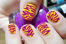 Saxc nails! / Neon! Nail art! Awesome right!!!