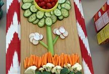 Cute veggie/ fruit trays