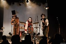 LIVE CONCERT PICS / We are a Steampunk, horror, gothic, victorian, heavy metal, theatrical, musical band from Montreal, Quebec, Canada.  We play live and live a crazy life!