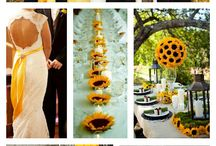 sunflower, wedding