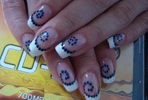 рисуем на ногтях