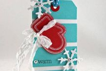 mitten card and tag ideas