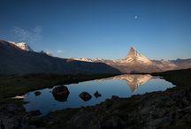 Schweiz Mattahorn See