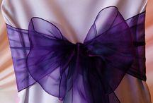 Cadbury Purple Wedding Theme