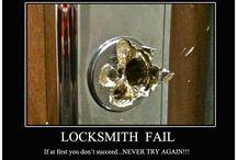 Locksmith Fails