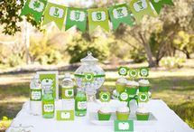 St. Patrick's Day Party Ideas / St. Patrick's Day party ideas  --   cakes, decorations, party foods and favors. See more party ideas at CatchMyParty.com.