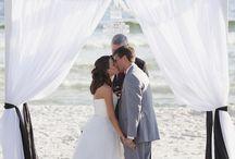 Modern Chic Beach Wedding