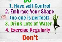 Health & Wellness Tips / Tips approved by Adrienne Vose, Certified Fitness Trainer.