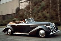 Pininfarina Paradise / Metal, Glass, Rubber, Fuel. Spit shined, buffed & polished. Mod metallic marvels of the 1920's-1980s, mostly mobile motors made by the main manufacturer: Pininfarina (some Brits in here too)