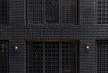 edificios negros