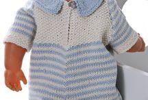 Babyborn kleertjes breien