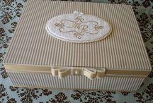 Caixa decoradas