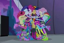 MY LITTLE PONY: Equestria Girls 2 Rainbow Rocks / by Angel Omar Feliz Hidalgo