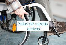 Sillas de Ruedas Activas / Si eres una persona activa que no quiere perder su independencia y autonomía, tienes que subirte a una silla de ruedas activa, mucho más maniobrables que las manuales.