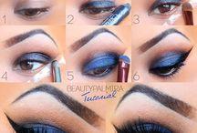 Ojos en tonos azules