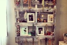 Accessory displays and holders