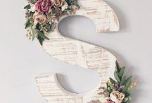 letters decor