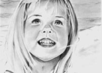 Art Works in Graphite by Yvonne G. Williams / Fine Art and Portraiture in Graphite
