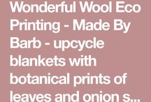 Ecoprinting