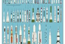 Ingenios espaciales / Cohetes espaciales, sondas