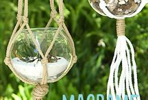 macrame plant hanger how to make