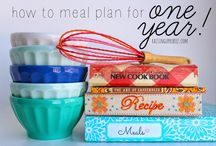 Meal Planning / by Adrienne Usher