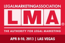 #LMA13, The 2013 Legal Marketing Association Annual Conference / A work in progress, so come back often!  This is a gathering place I have put together for all things LMA13. I will Pin sponsors, committees, honorees, blog posts, photos, education, entertainment and anything else that I see that helps pull together what we experience this year.