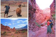 """Mosaicos Viajeros / Collage - mosaico con varias fotos de nuestros """"Top 13"""" de Sudamérica en nuestra Vuelta al Mundo"""