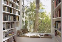 Reading Nooks - Home Libraries