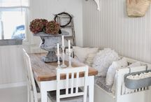 Cottage Bench Seating