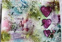 mixed media 3 - art journals / by Barbara Sullivan