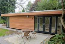 Garden Offices / If you work from home, let Executive Garden Rooms deisgn and build a garden office for you.  The best way to create a motivating and productive environment is to have a dedicated workspace, an office in the garden is the perfect solution.