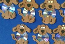 Dog crafts for kids / This page has a lot of free Dog crafts for kids,parents and preschool teachers.