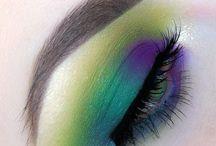 colourful eye looks