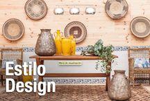 Estilo Design / Esta tendencia viene marcada por el uso de la simetría y la elección de la madera natural como material esencial para paredes, suelos, mobiliario y elementos decorativos. #leroymerlin #tendencia #tempo #design #decoración