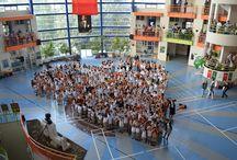 Doğa Okulları Bursa Hamitler Kampüsü / Bursa Doğa 500 kişilik tam donanımlı konferans ve tiyatro salonuyla, audio visiual sistemli kütüphanesiyle öğrencilere benzersiz olanaklar sunuyor. Basketbol, voleybol sahaları, tenis kortlarıyla açık spor sahalarına sahip Doğa Okulları geniş ekoloji bahçeleriyle, hayvanat bahçeleri, binicilik tesisleriyle de öğrencilere Doğa Bilinci'ni aşılıyor.