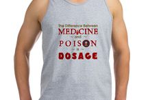 """Medicine & Poison :3 / """"The dose makes the poison,"""" as the saying goes, or expressed in more clear language, """"the difference between medicine and poison is dosage."""" Help convey this wise message to the world!  http://www.cafepress.com/intentional_merchandise/13205646"""