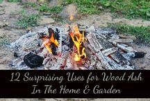 ashes from wood for gardening